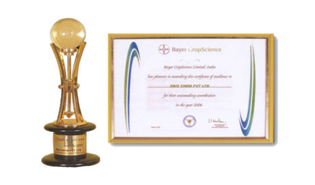 Baybuy Award from Bayer Crop Science for most innovative supplier, 2003