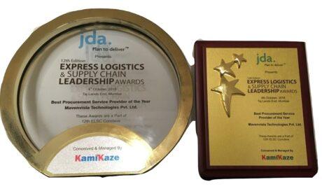 Award forthe best procurement services provider – Express Logistics Supply Chain Leadership Award, 2018