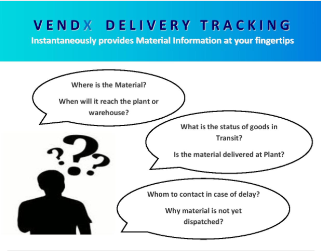 VENDX Delivery Tracking